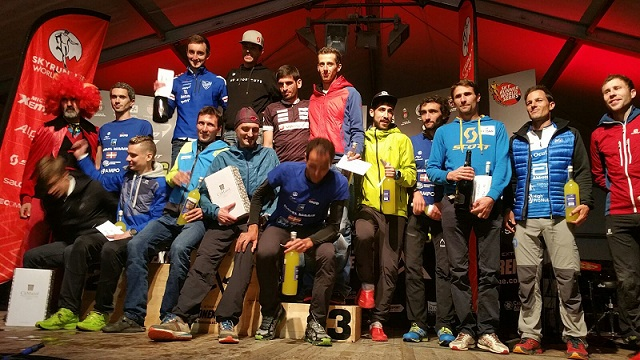 Dani García, Top-Ten en la última prueba de la Sky Runners World Series